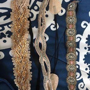 Set of 3 Francesca's headbands